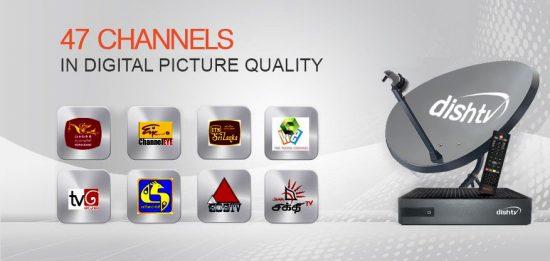 Dish TV Sri Lanka Channel List