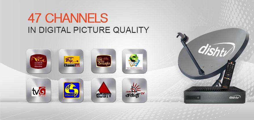Dish TV Sri Lanka Channel List – 47 Channels Available