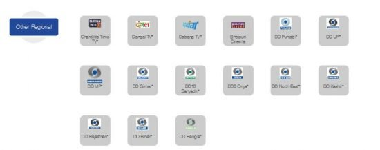 Other Channels In Zing Digital 99 Package