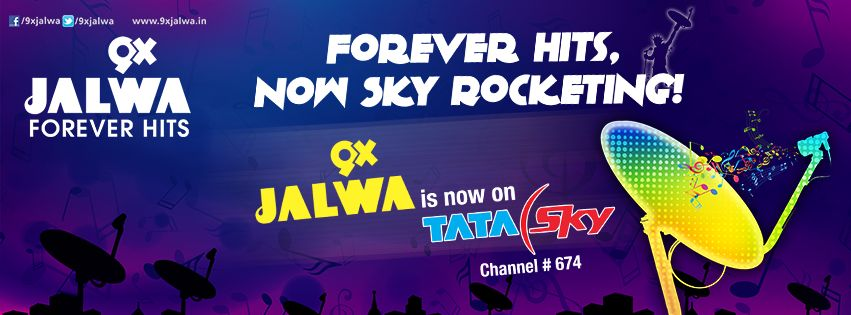 9X Jalwa Added on Tata Sky