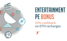 "Freecharge dth coupon code "" TV100 "" – get 25% cash back for online recharges"