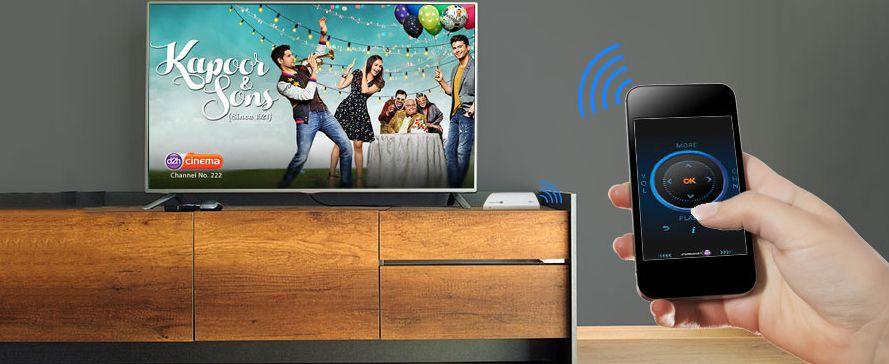 D2h Smart Remote App - Control D2h Set Top Box With Smart Phones