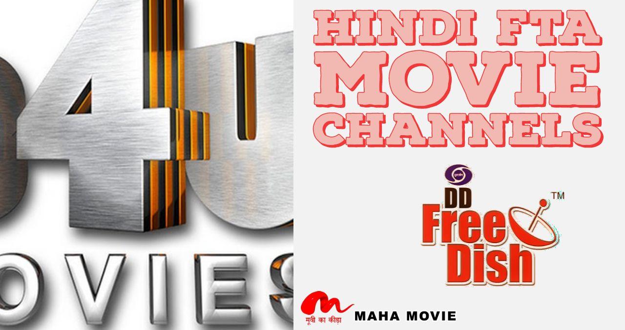 DD Free Dish FTA Hindi Movie Channels
